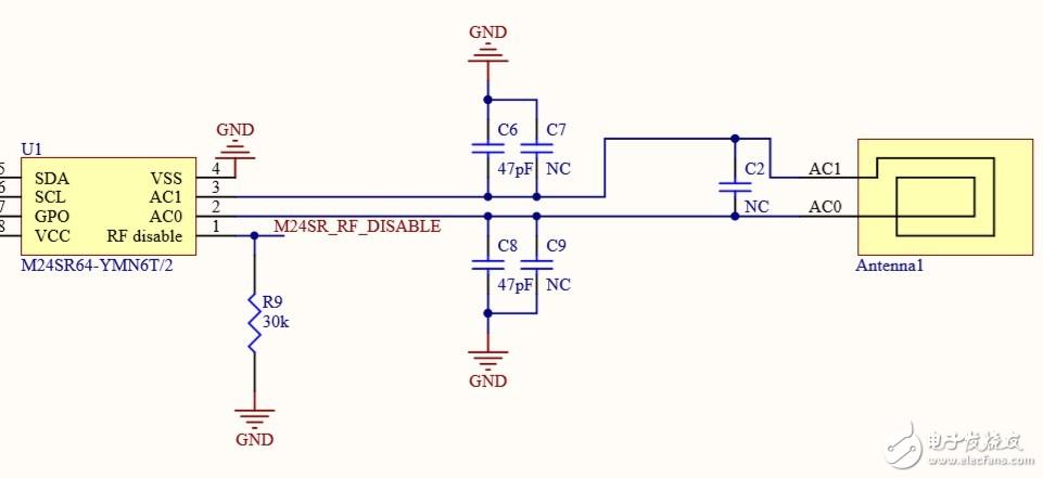 M24SR64的天线设计