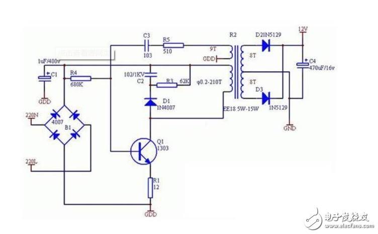 此电路三极管的作用
