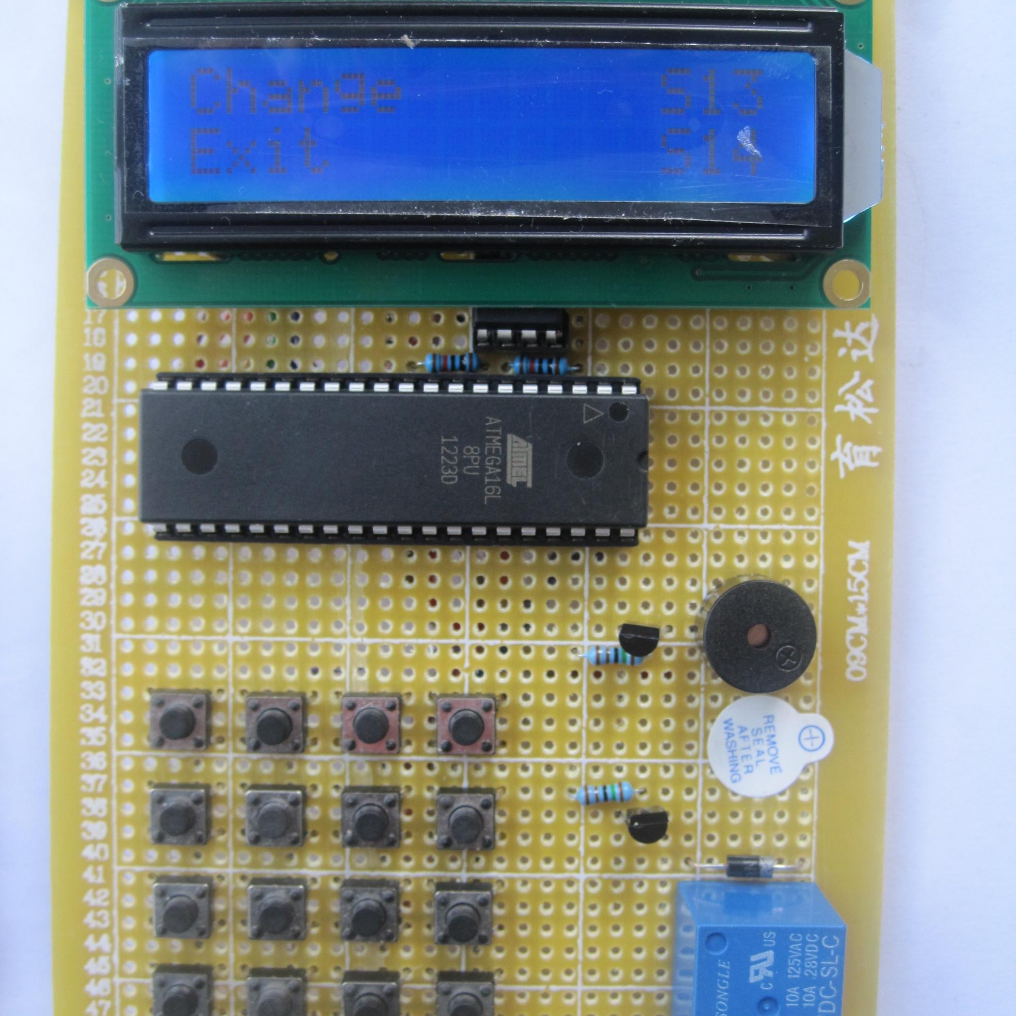 想在atmega16单片机上加一个GSM模块,请问需要选择哪种GSM模块???