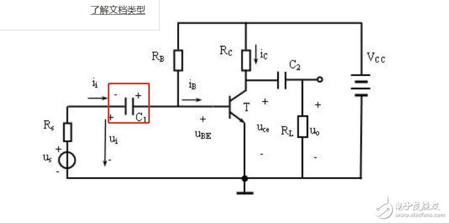 电解电容在做耦合电容的时候是如何工作的,如何理解电解电容两端的变化?