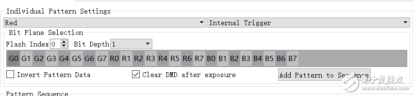DLP4500将图像存储在闪存中