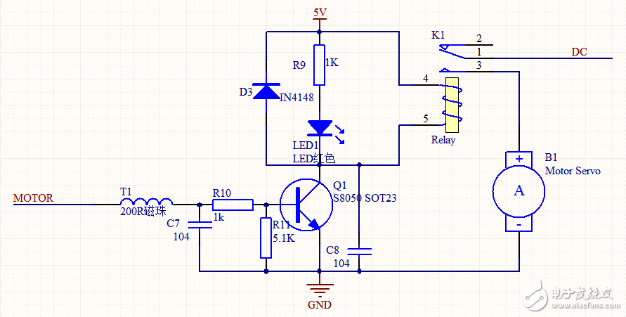 小白求助,大佬帮看一下这个单片机控制电机转动的电路图有什么问题
