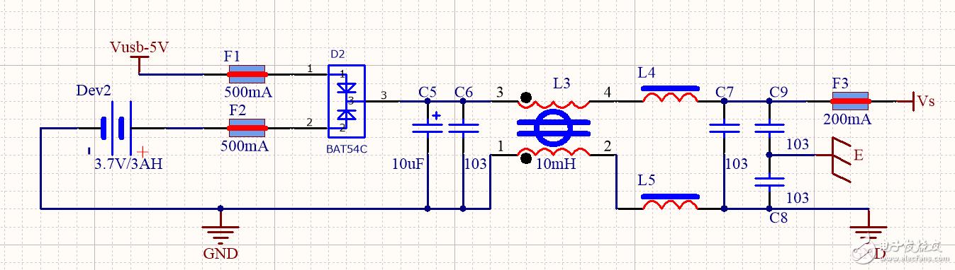 共模电感和差模电感能不能用于直流电滤波?