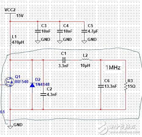 求助:E类功放磁环电感的选择