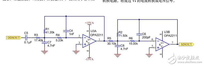 这个运放构成的滤波电路是什么原理呢