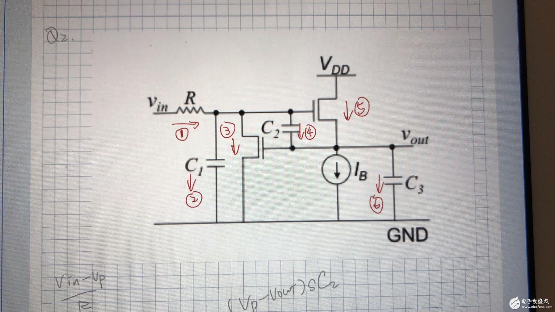 請幫忙講解一下這6個電流的關系表達,謝謝!