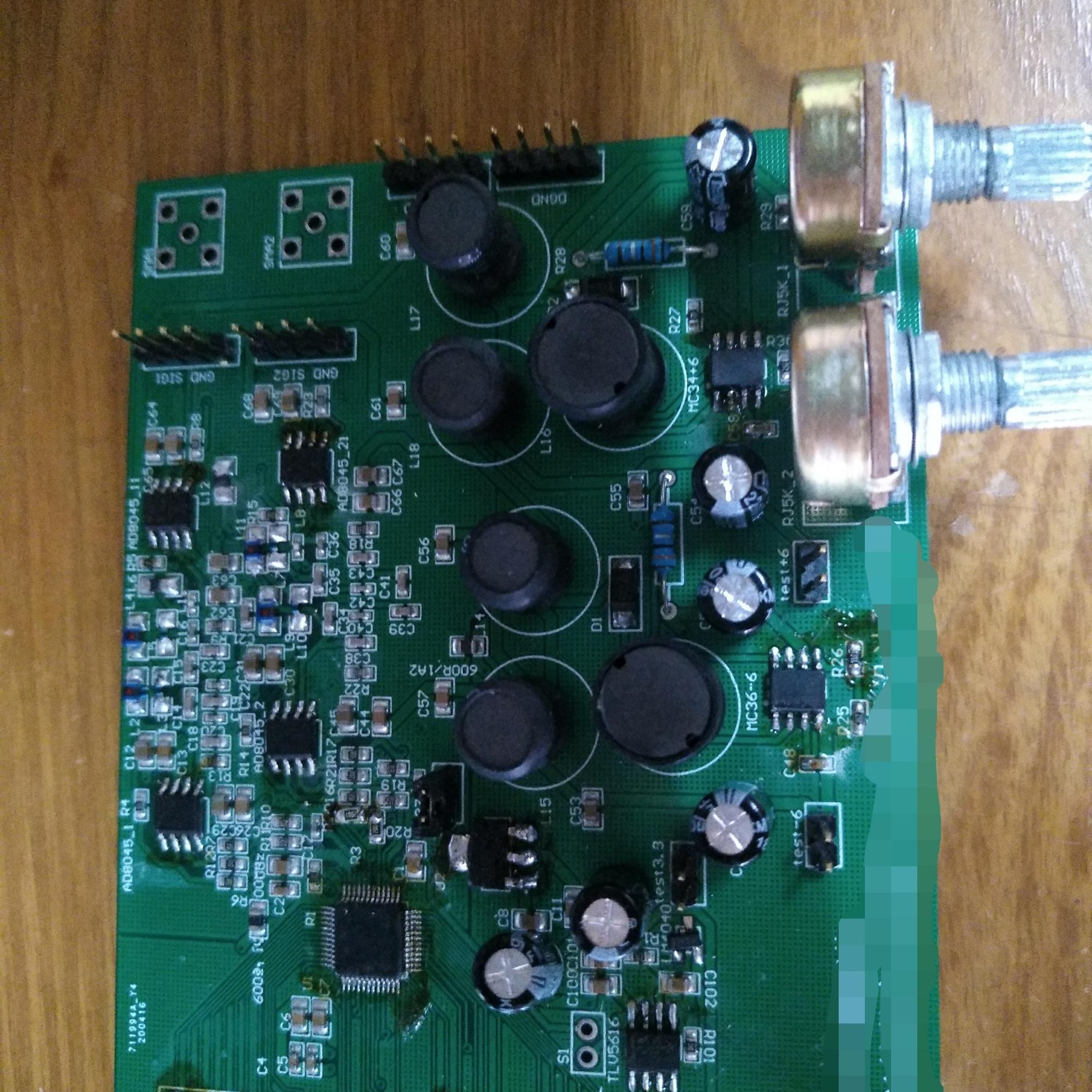 DC-DC電源芯片MC34063ADR由+5v轉換為-6v,沒帶負載輸出正常,帶負載后輸出-4.3v。