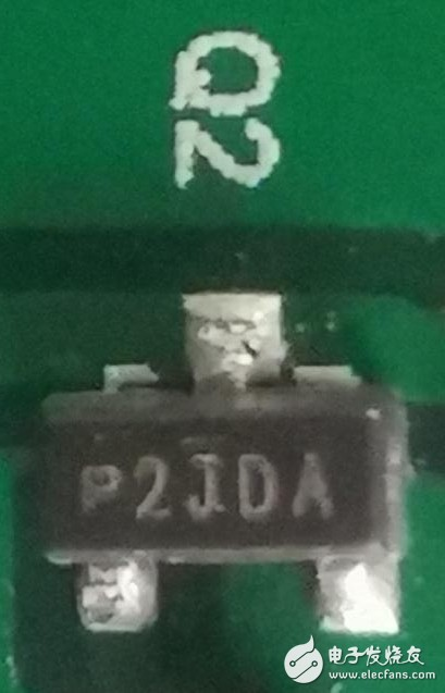 请教一下这个2JDA丝印的三极管型号