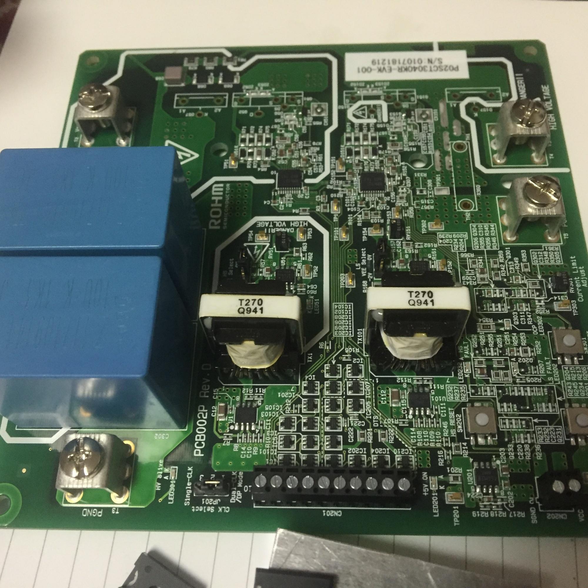 【羅姆SiC-MOSFET 試用體驗連載】開箱測試