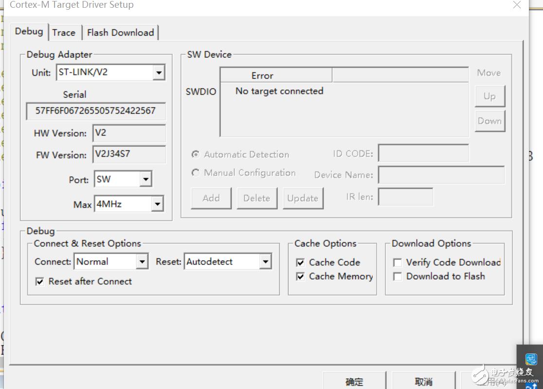 自制ST-LINK V2板子,驱动都能装好,就是获取不到目标板子