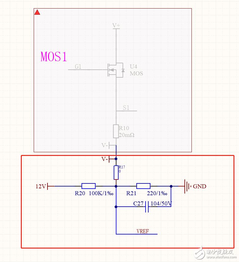 关于MOSFET接地端电压抬升的问题!!!