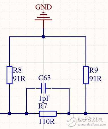 π型衰减器中并联电容的作用!!!