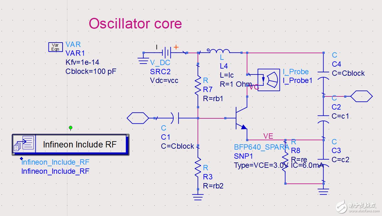 如何用ADS的DesignGuide设计压控振荡器?