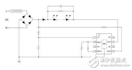 SM2396EK支持可控硅调光应用电流可达50mAc