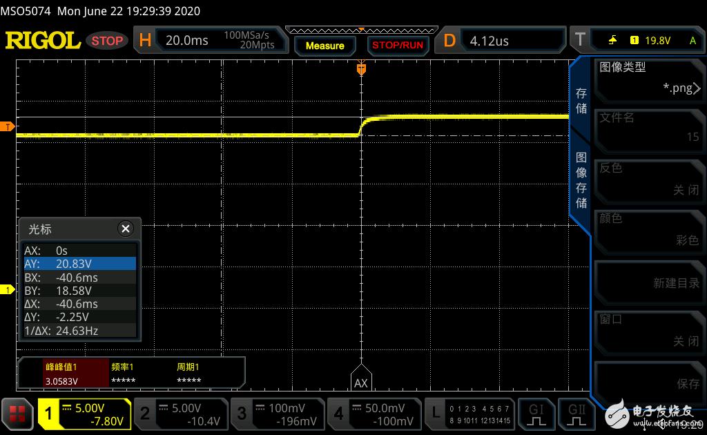 【罗姆BD7682FJ-EVK-402试用体验连载】测试工作波形