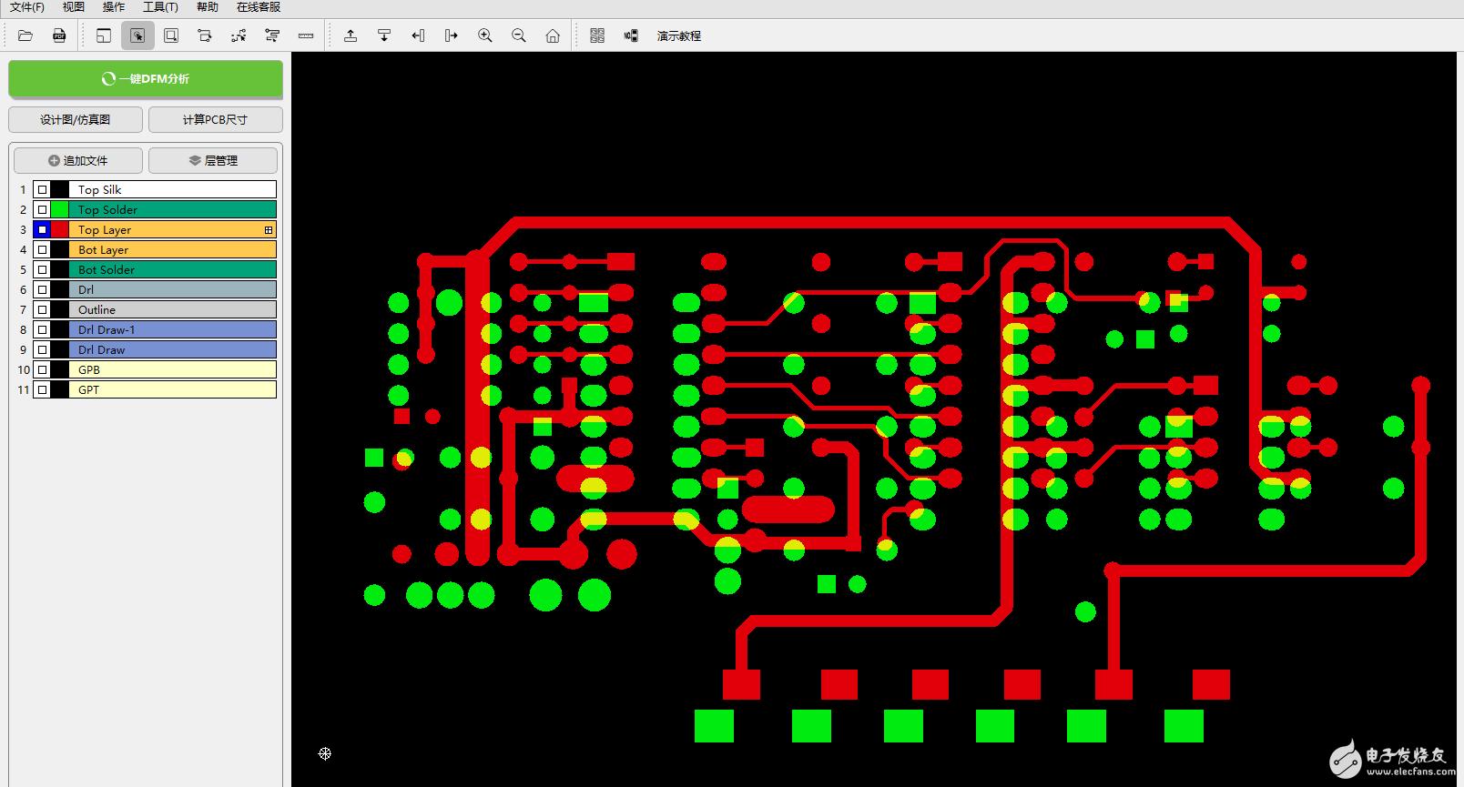 DFM软件的移动操作,让PCB检查更轻松