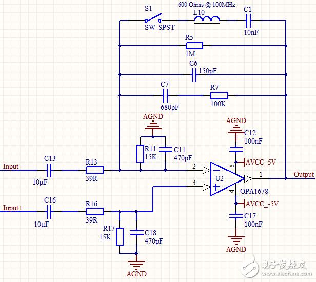 请问操你啦影院中这个滤波器的通带频率是多少?