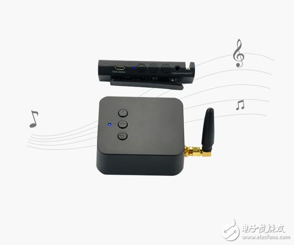 2.4G无线麦克风音频接收器案例
