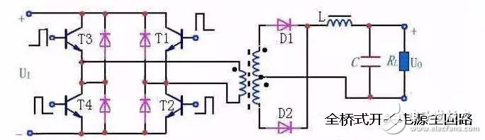 半桥/全桥/反激/正激/推挽拓扑结构的区别与特点