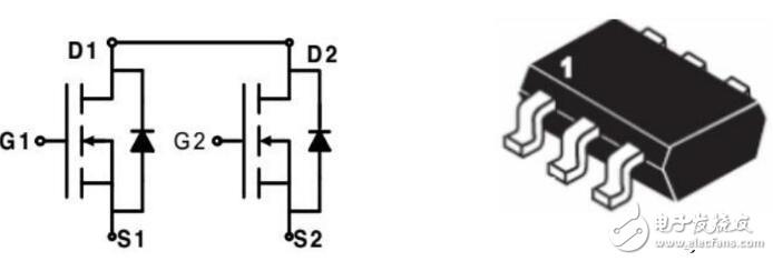 8205ST--内置N沟道增强型双MOS管
