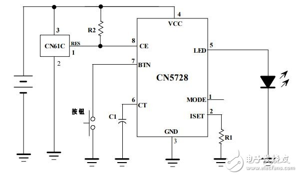 多功能LED手电筒技术方案