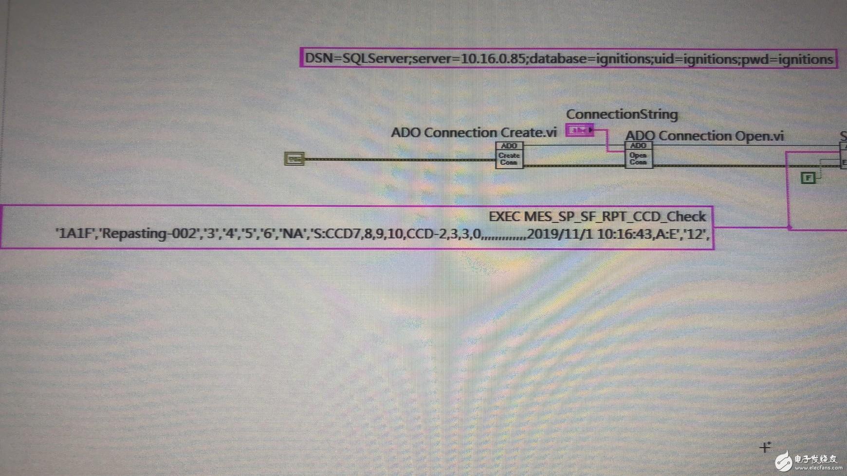 有没有大神用过 Labview 与SQL 数据库用ADO 链接,通过存储过程的方式