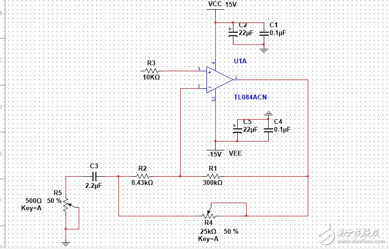 请问这个运算放大器实现的是什么功能啊?如何分析啊?