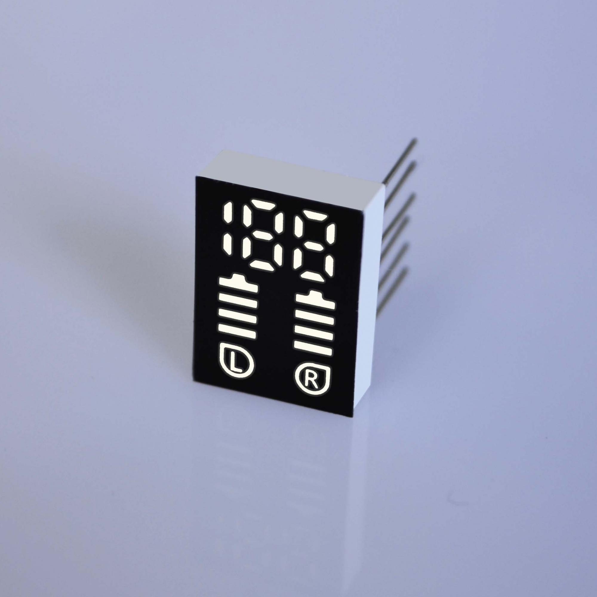 蓝牙耳机led数码管显示屏引脚图_电路图-信恩光电工厂提供