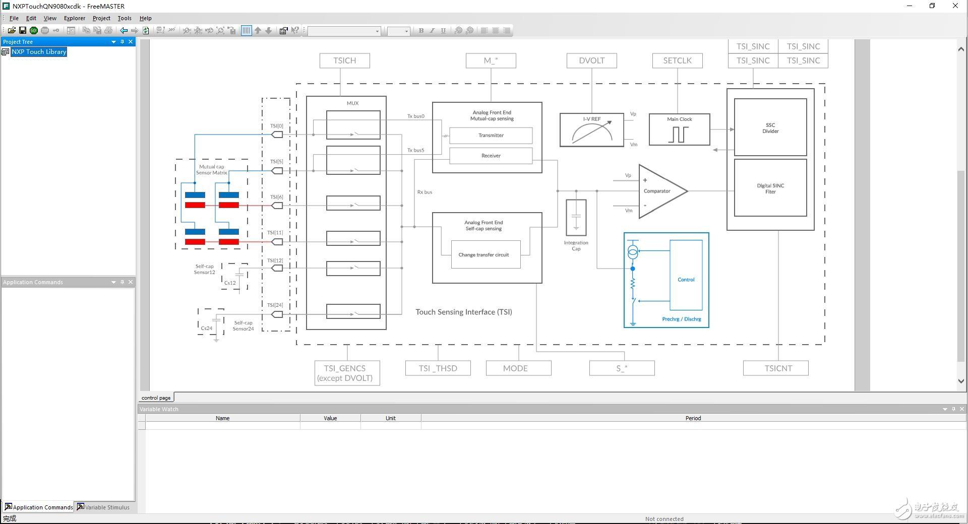 【大联大世平NXP KE16Z 开发板试用体验】配合FreeMASTER简单测试