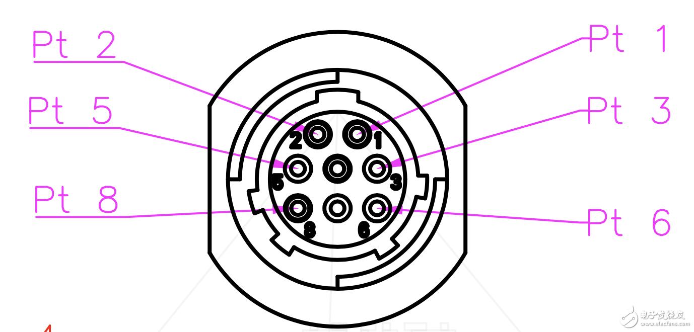 请问这种排列的八芯脚的接口,有具体的型号的或者在产厂家吗?