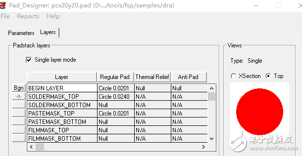 cadence自带FPGA封装的焊盘为什么为通孔焊盘,是不是画错了?