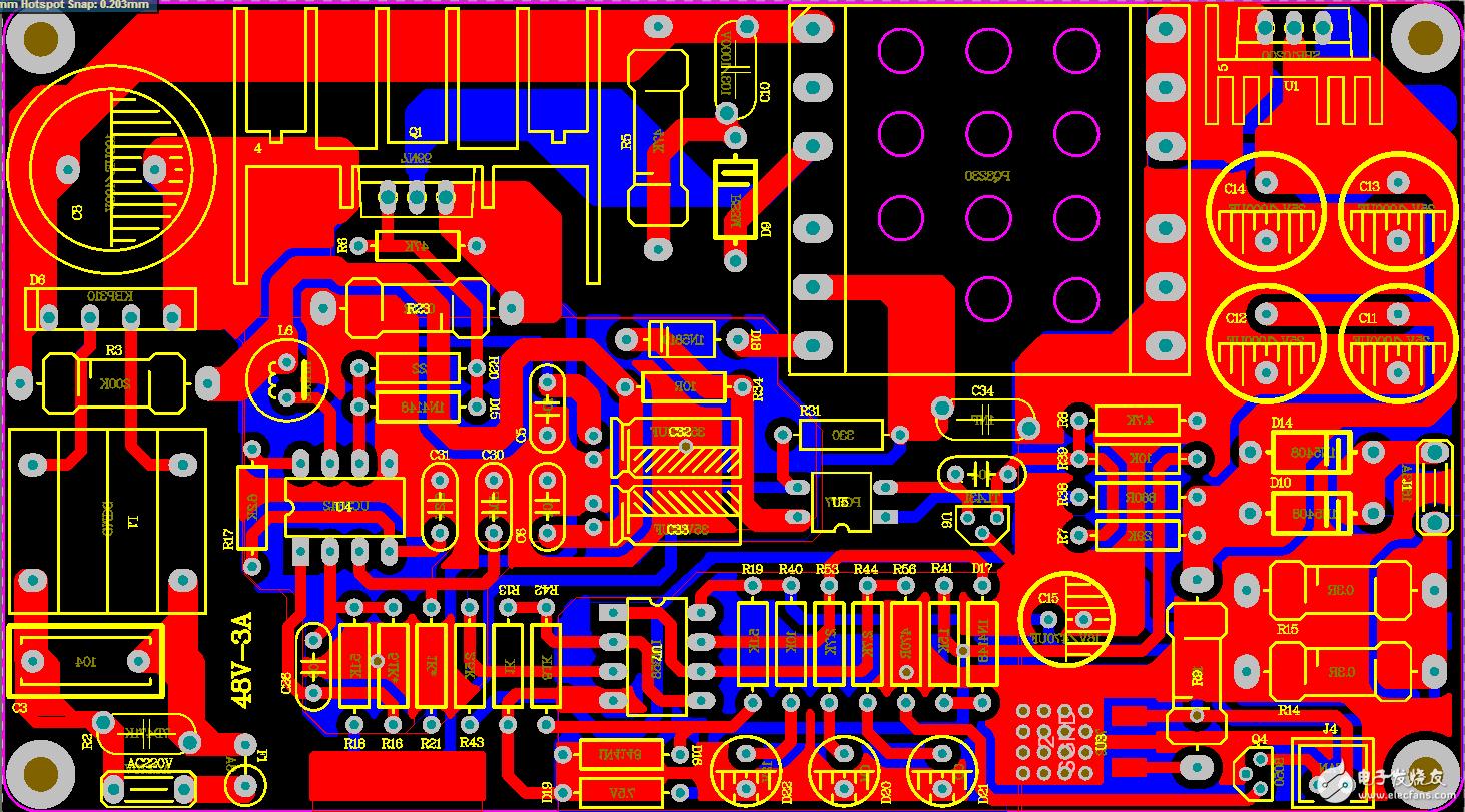 DIY充电器UC3842+358方案