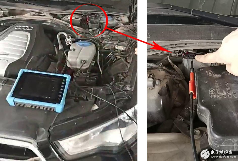 汽修示波器测量汽车LIN总线信号及波形分析