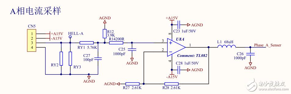 如何选择TL082构成的二级运算放大电路的反馈电阻大小?