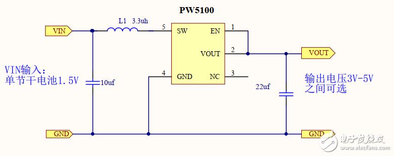 1.5V 转 3.3V, 1.5V 转 5V 芯片和电路图