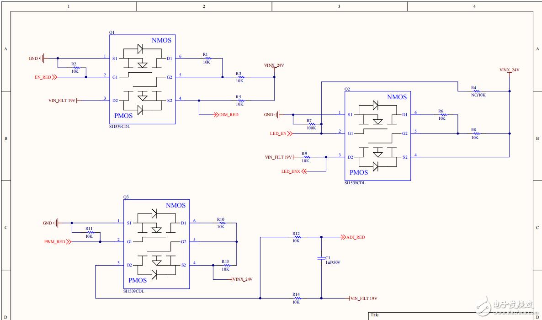 TI的LM3434 LED驱动电源方案,无法调光,请大神帮分析分析