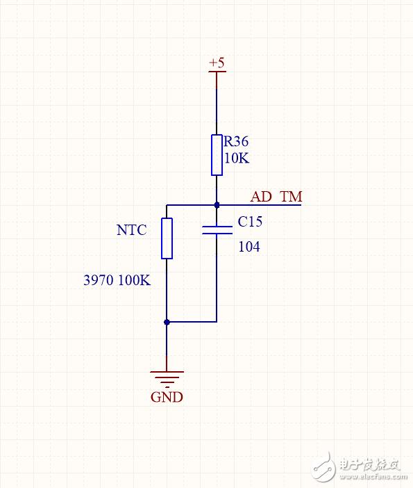 NTC检测电路
