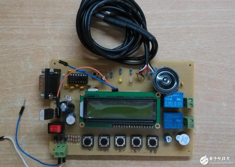 具有語音播報功能的水溫控制系統設計!(原理圖&PCB&C程序)
