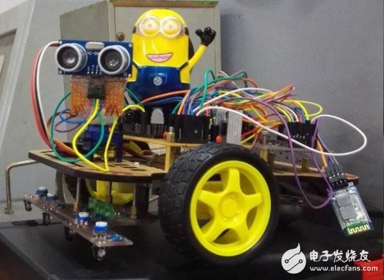 基于STM32单片机多功能智能小车资料分享!(源码)