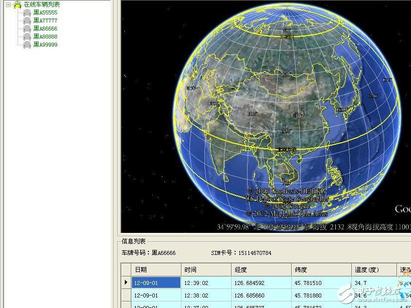 基于STM32+ GPRS+GPS+Google Earth的车载导航定位系统资料分享!(原理图+源码)