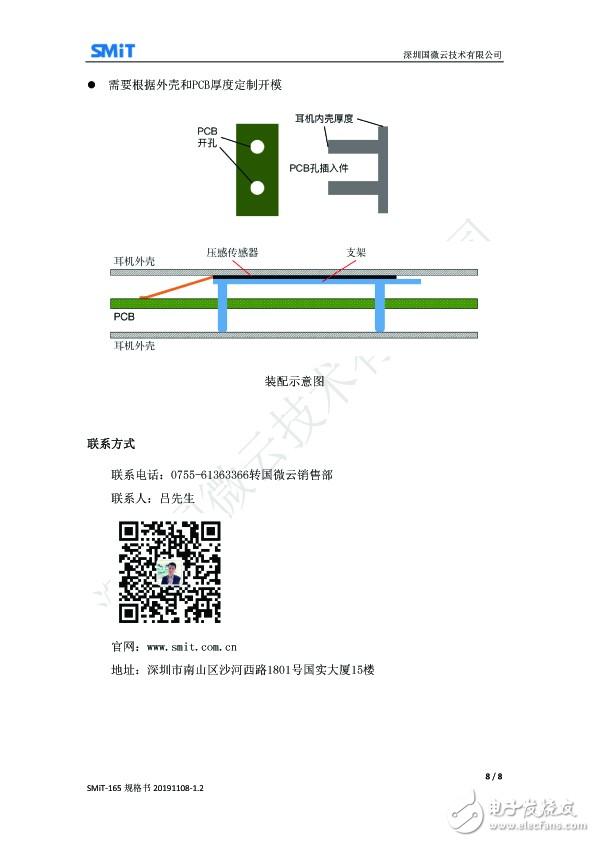 国微云为TWS耳机量身打造SMiT-165柔性薄膜压力传感器