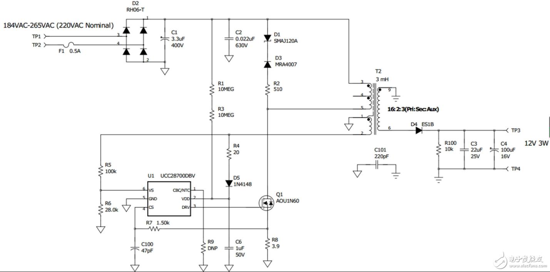 實現偏置電源的方法:線性,降壓轉換器或反激轉換器