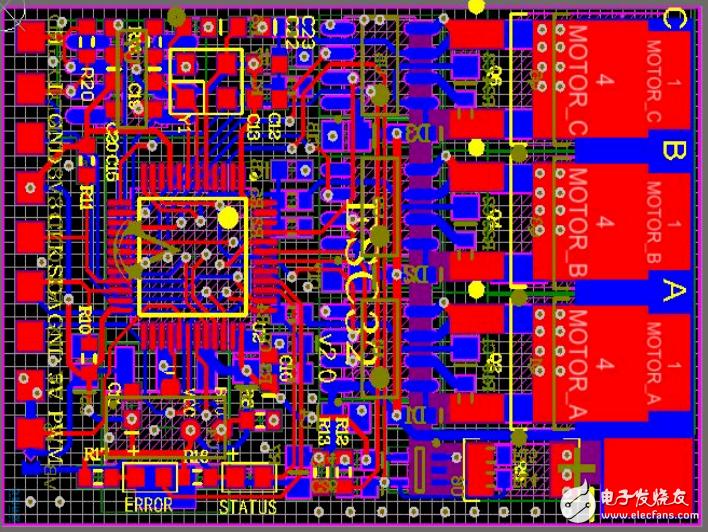 【開源】無刷電機設計(原理圖+PCB源文件+MDK電調程序+上位機)!