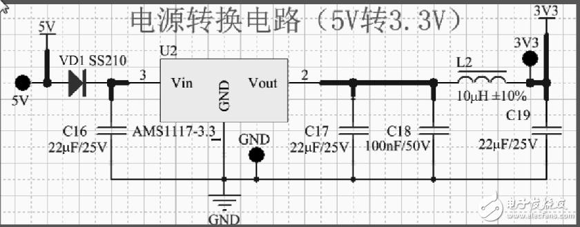 AMS1117输出端串一个10uH电感的作用是什么?