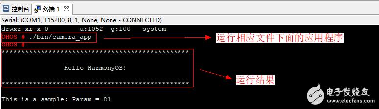 【信盈达】鸿蒙操作系统移植--9、在终端中执行应用程序
