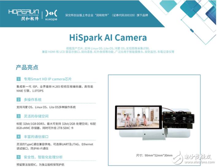 众筹一基于HarmonyOS的HiSpark系列开发套件