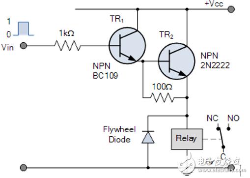 關于繼電器開關電路的詳細解析!