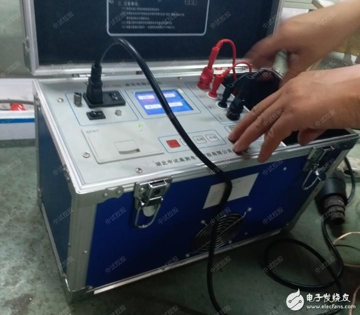 变压器直流电阻测试仪现场测试方法