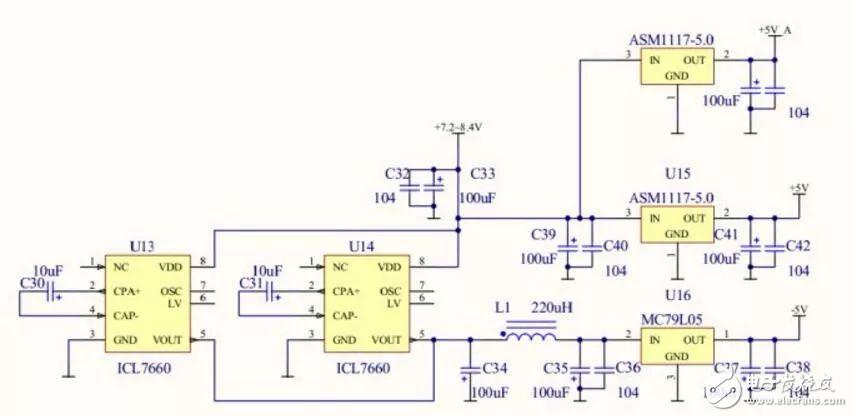 单片机中常用的负电压是怎样产生的?