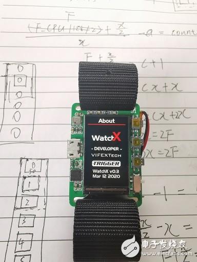 【开源项目】基于STM32的智能手表WatchX 质量流畅(60FPS+)的动画效果
